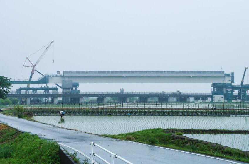 北陸新幹線 浅生橋りょう